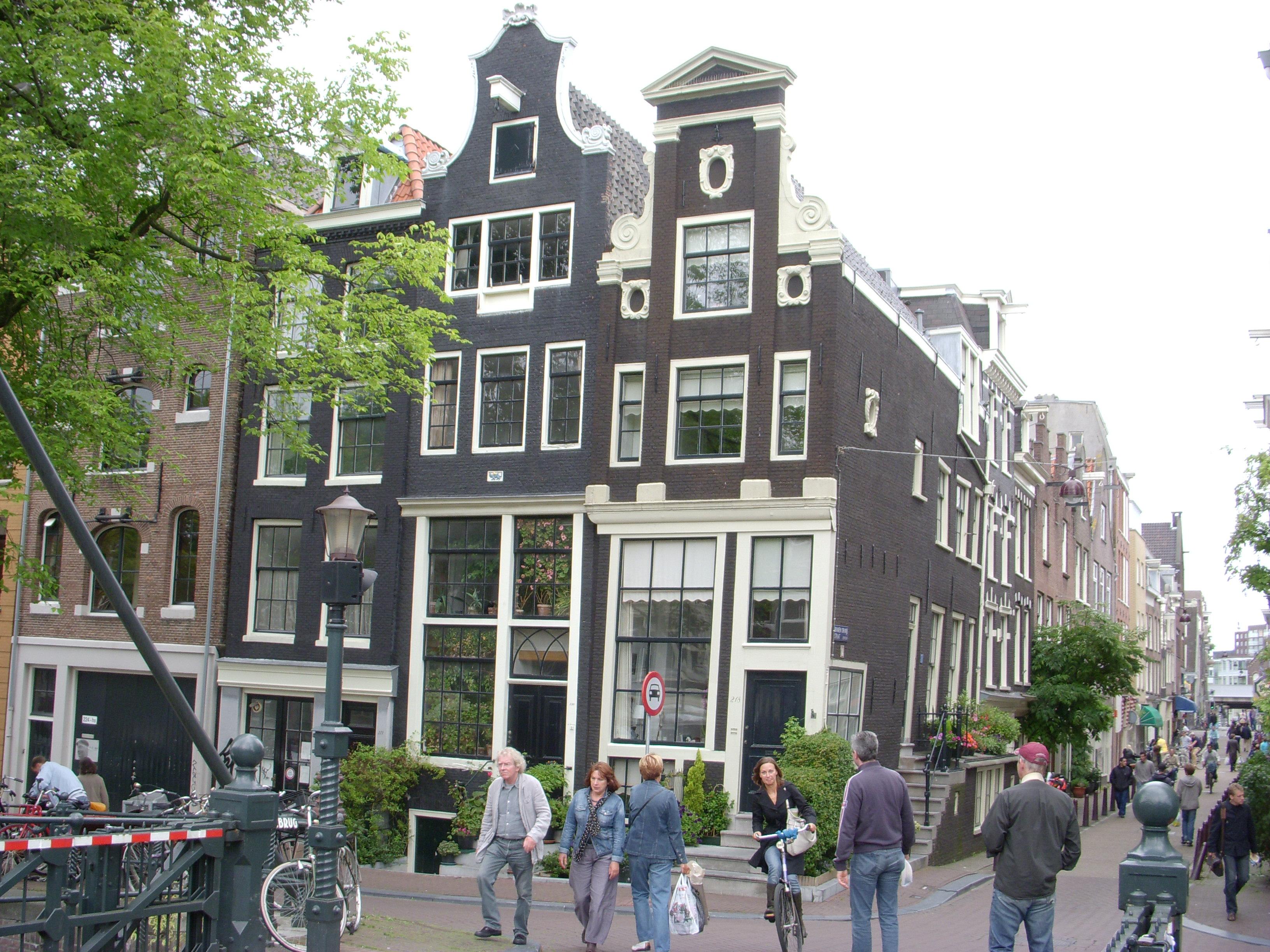 Amsterdam architecture.