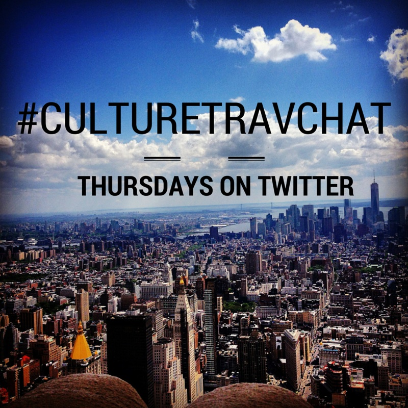 Exciting News about #CultureTravChat