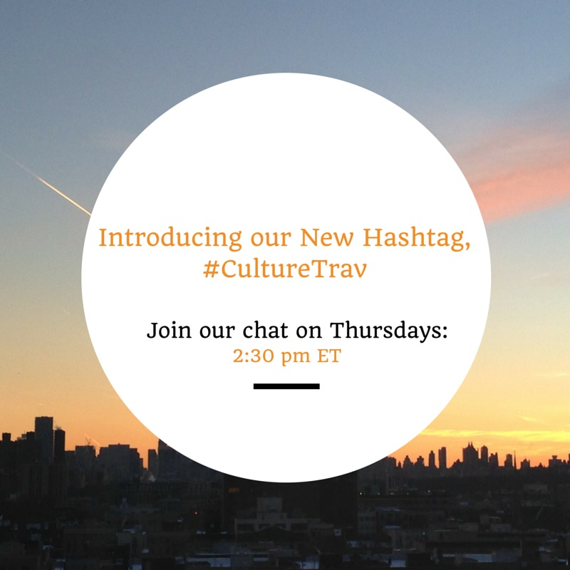 Introducing a New Hashtag for CultureTravChat