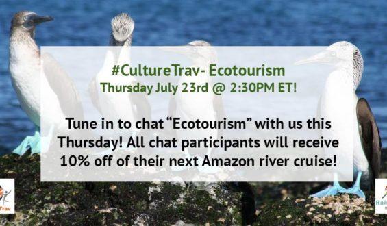 #CultureTrav: Ecotourism Discount