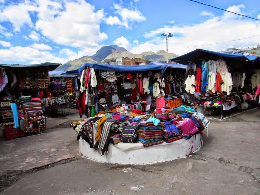 Exploring Otavalo Indigenous Market