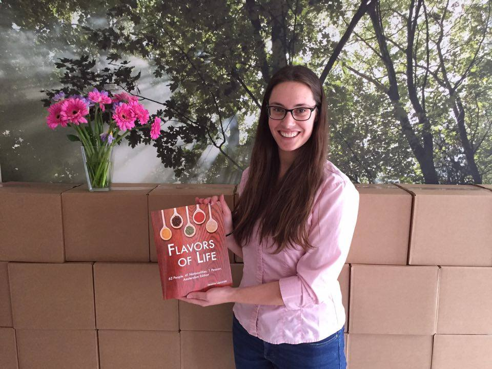 Interview with Jessica Lipowski, Author, Flavors of Life