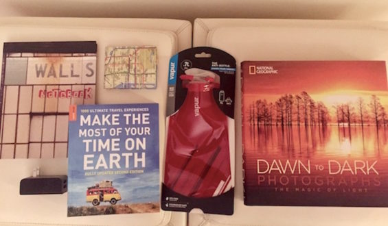 Travel Goodies Giveaway Package