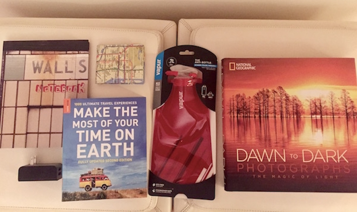 Travel Goodies Giveaway Package