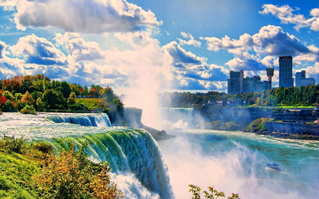 Niagara Falls (Photo credits to: wallpapercave.com)