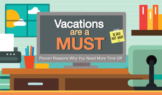 Vacations Are a Must: Proven Reasons for More Time Off