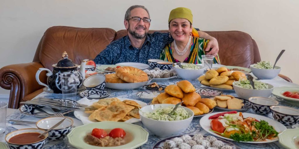 Learning to Cook Uzbek Food in Brooklyn with The League of Kitchens