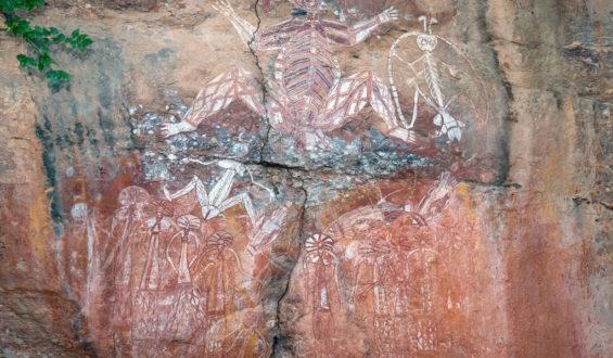 Aboriginal Rock Art and Tracing History
